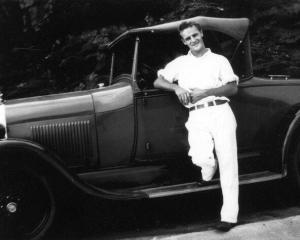 Grandaddy with car